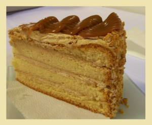 Karamell torta